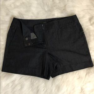 Ann Taylor Dark denim shorts